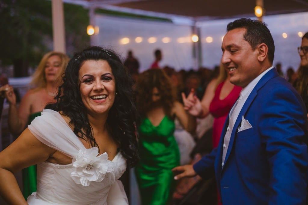Καλοκαιρινός γάμος στη Μύκονο