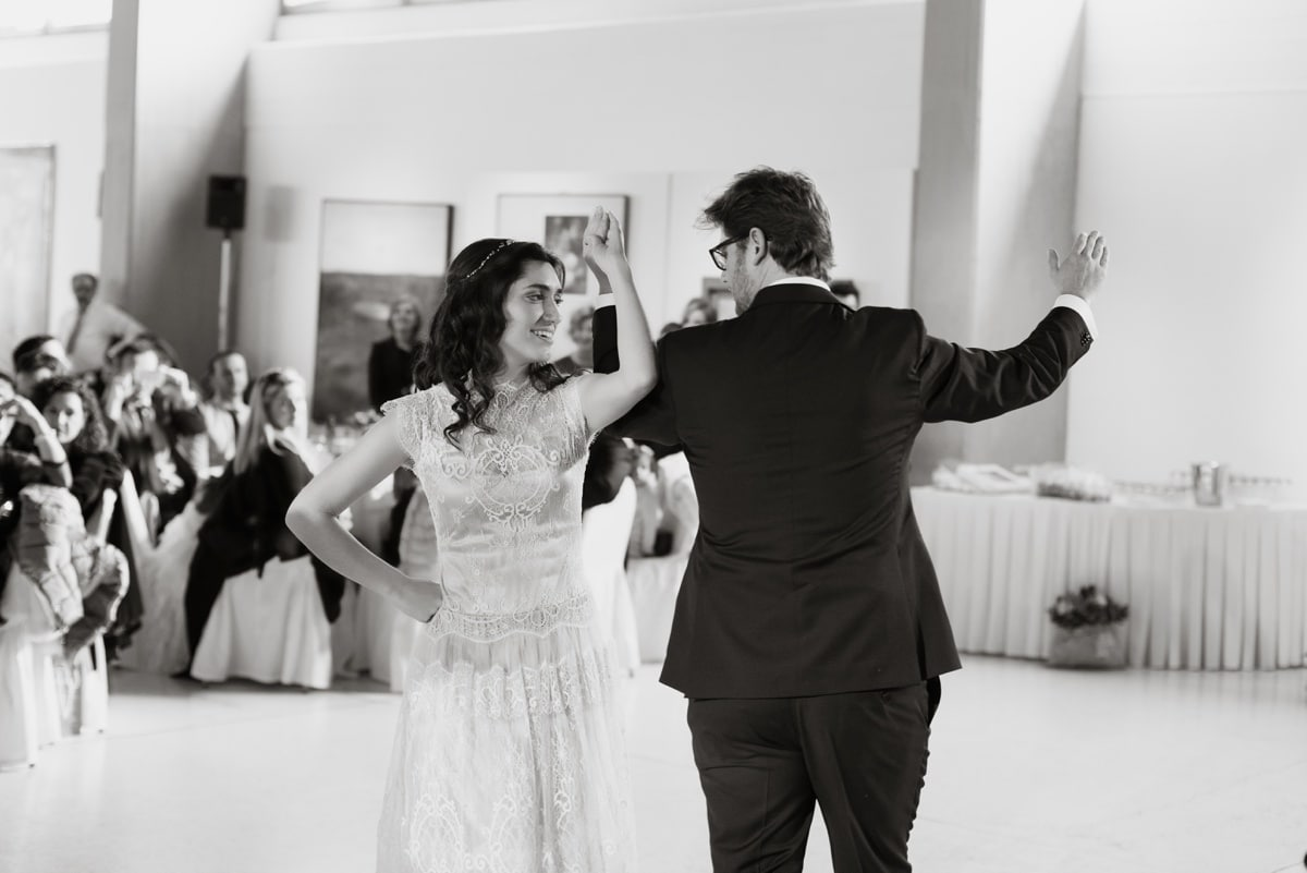 Wedding at Vorre Modern Art Museum