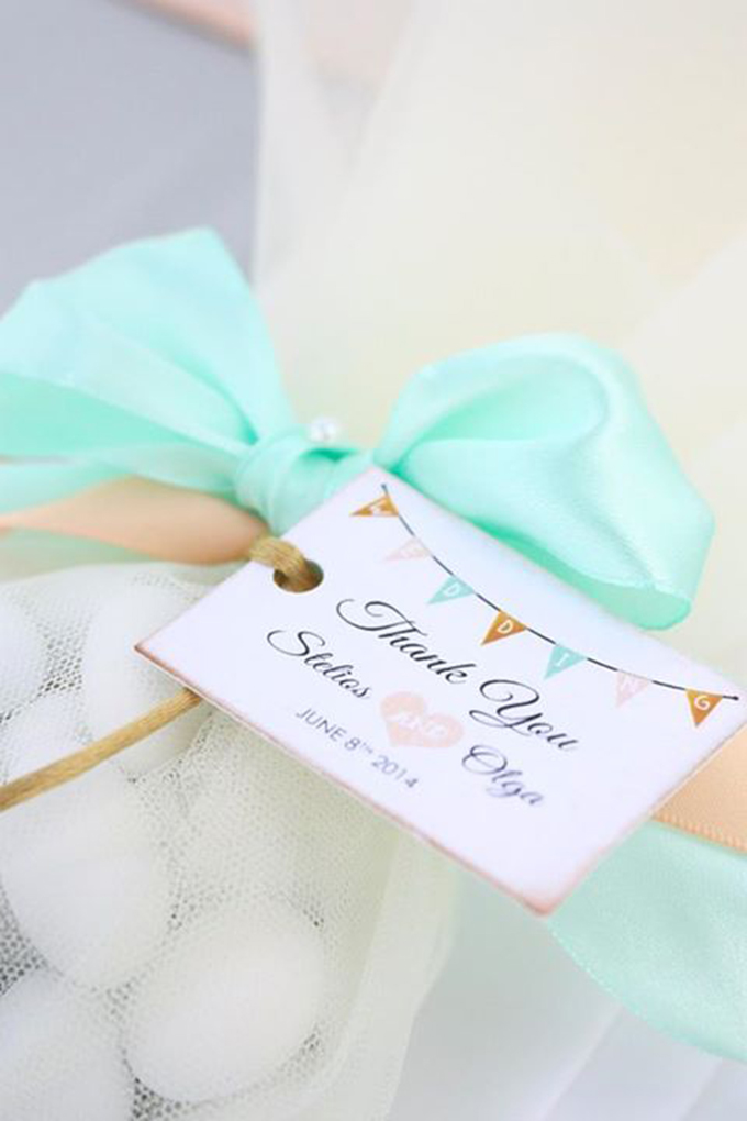mint Wedding Guest Favor