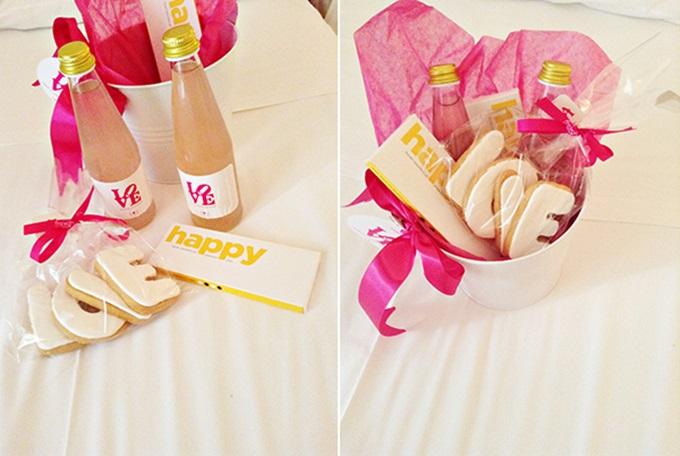 Welcome bags για τους καλεσμένους του γάμου
