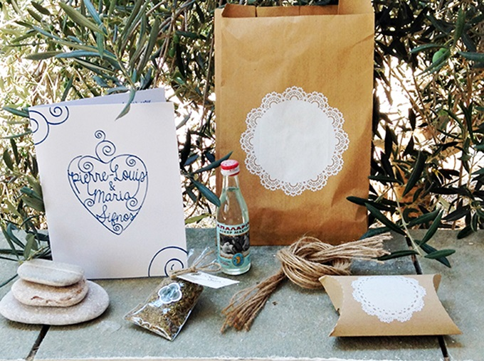Welcome bags for your wedding guests
