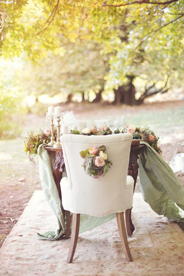 διακόσμηση καρέκλες νύφης και γαμπρού