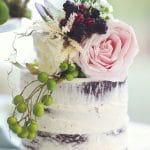 Ρομαντική Γαμήλια Τούρτα