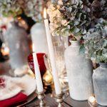 Ένα industrial χριστουγεννιάτικο τραπέζι
