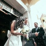 A snowy Christmas wedding