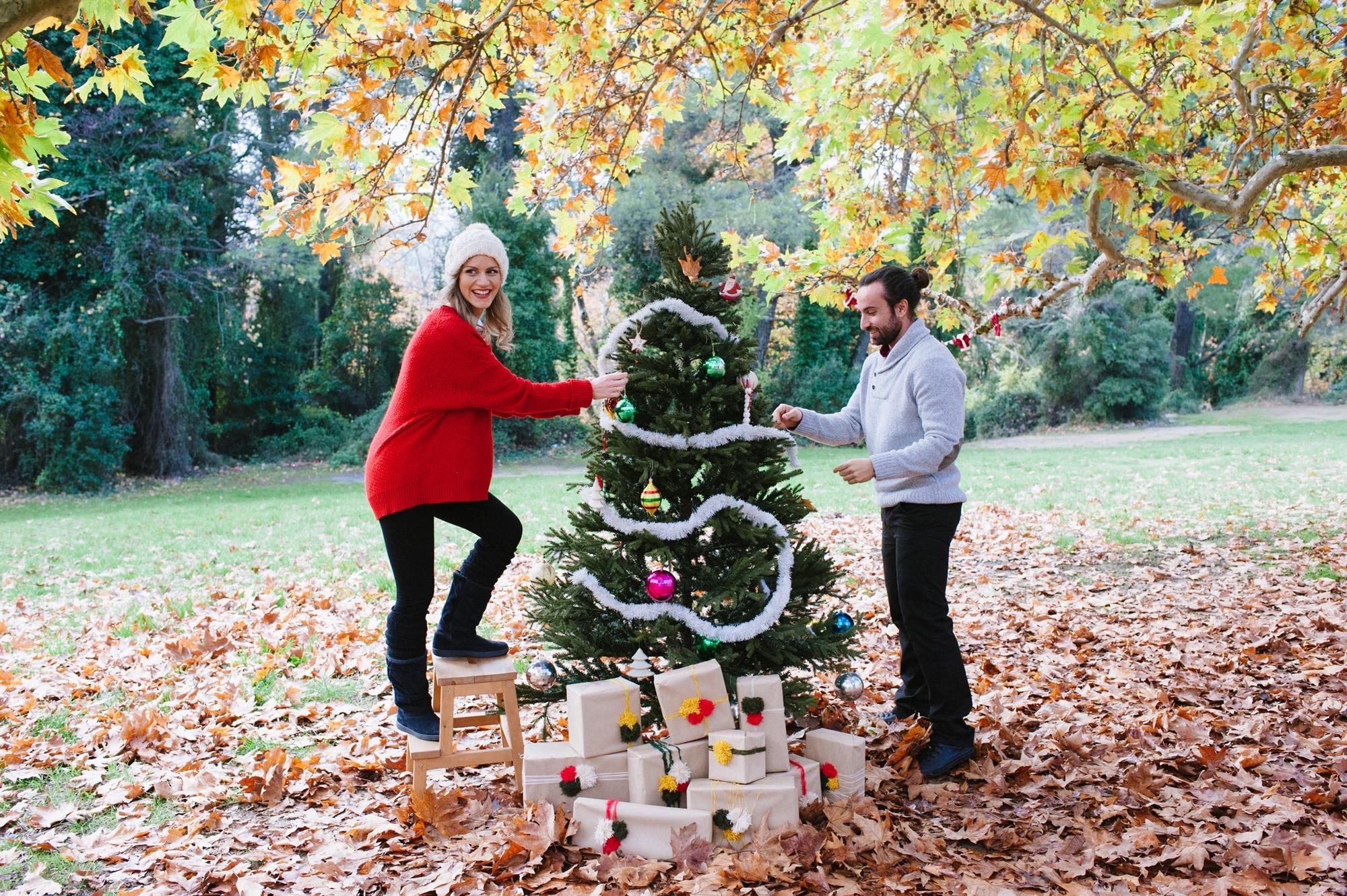 A Christmas Love shoot