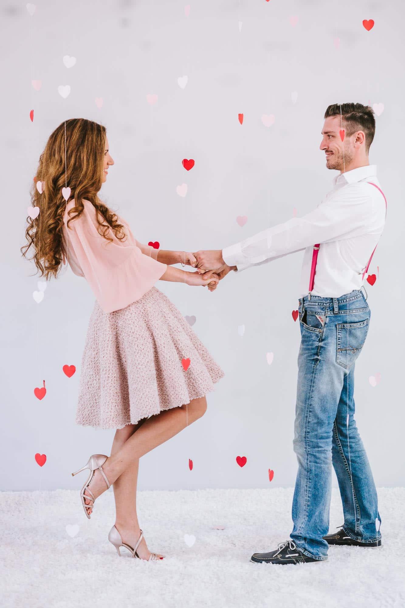 Μια Hollywood Valentine's φωτογράφιση