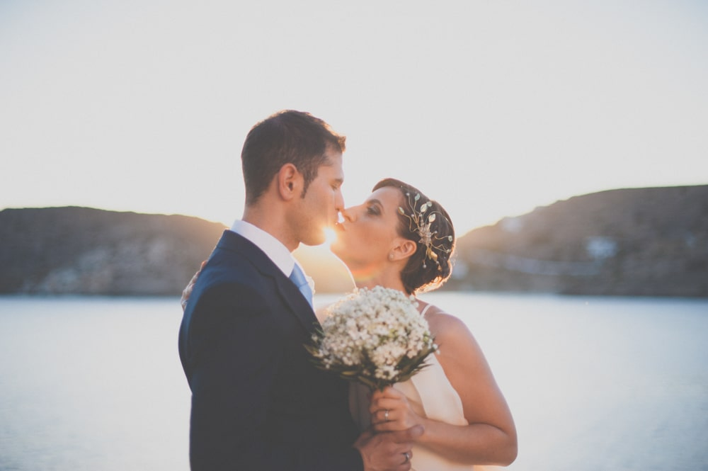 Summer wedding at Ios