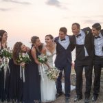 Stunning wedding in Santorini