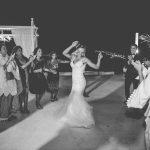Stunning wedding in Santorini