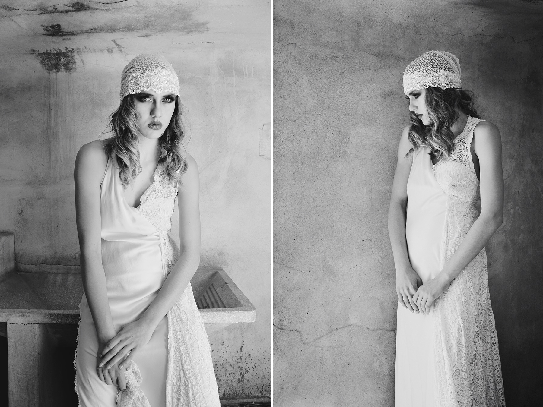 20s styled φωτογράφιση με νυφικά!