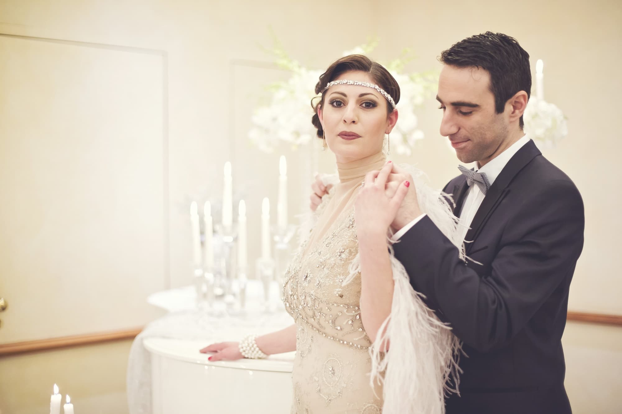 Great Gatsby pre wedding φωτογράφιση