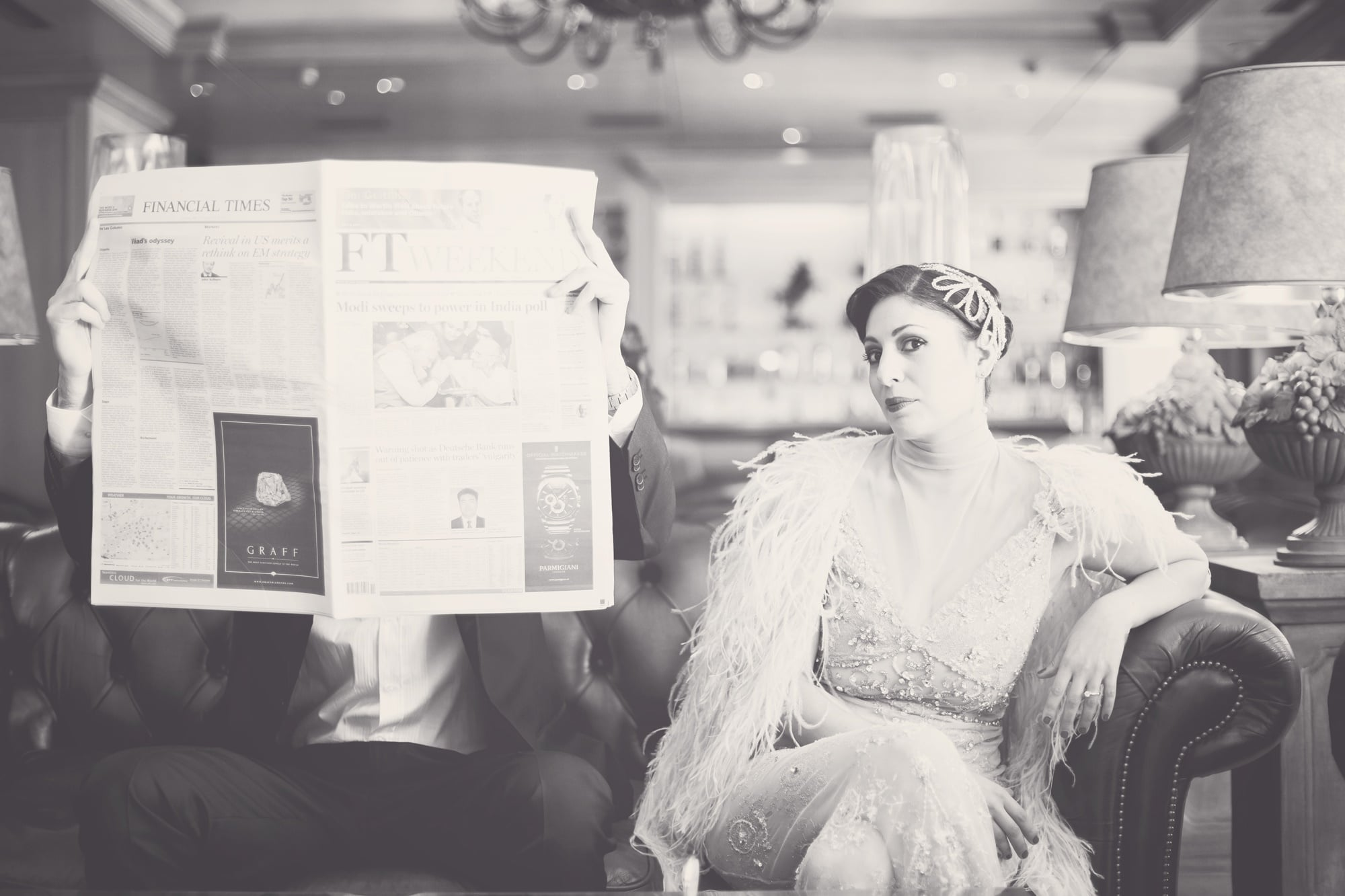 Great Gatsby pre wedding photoshoot