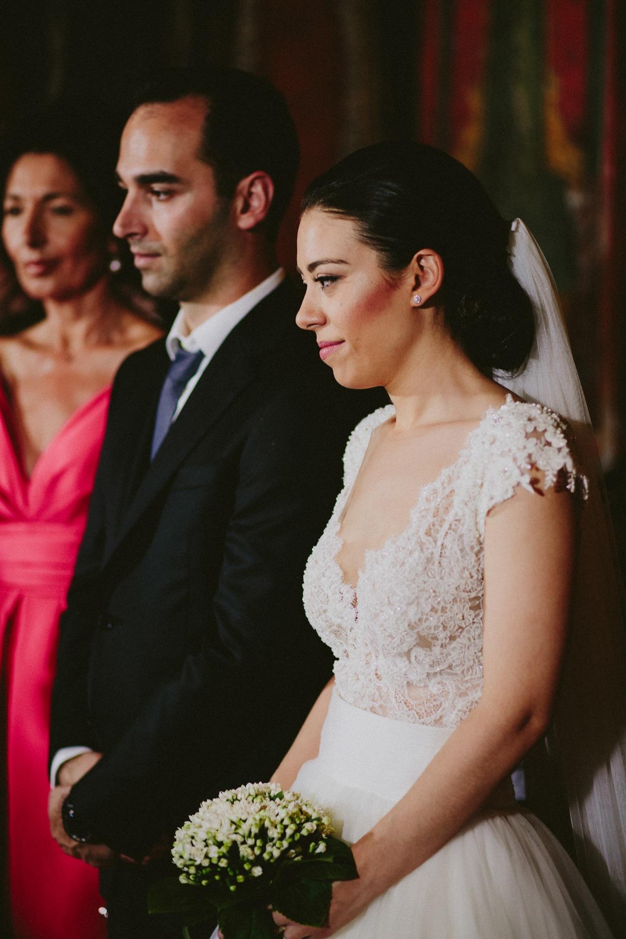 Traditional wedding at Meteora