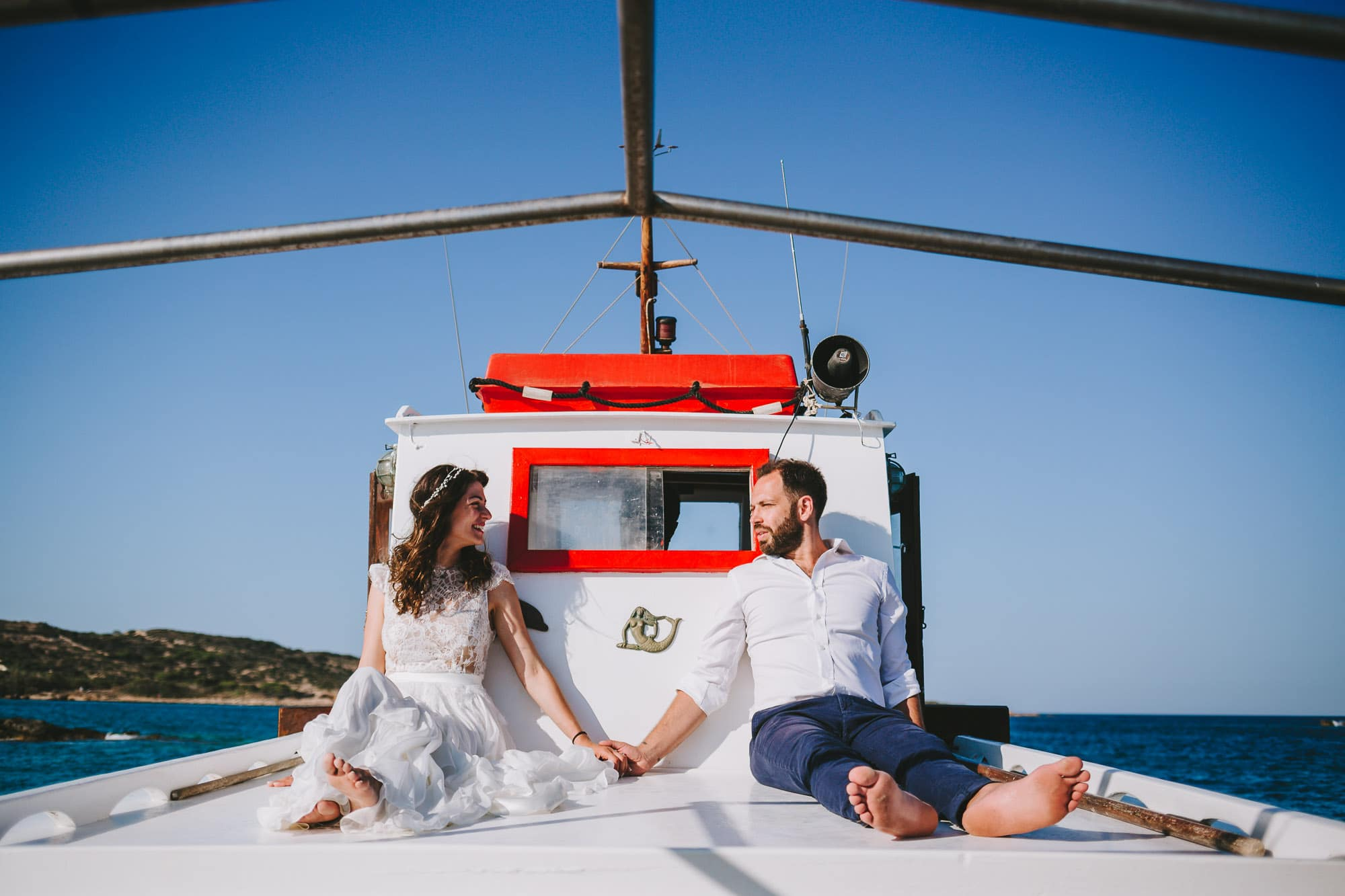 Summer wedding in Koufonisia