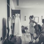 Total white wedding at the Margi Hotel