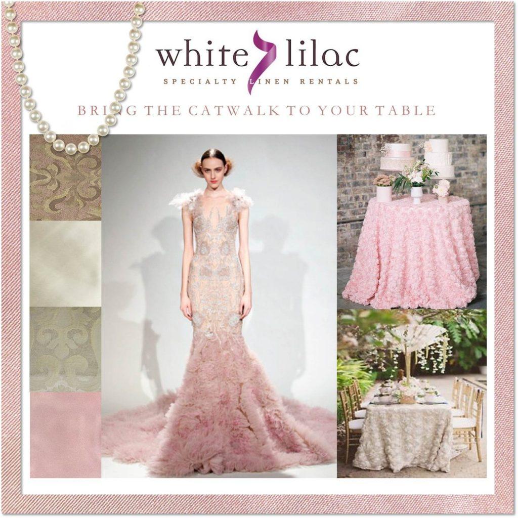 ροζ διακόσμηση δεξίωσης γάμου white lilac