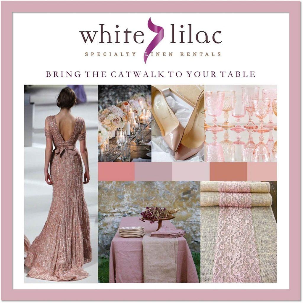 ρομαντικός στολισμός δεξίωσης γάμου white lilac