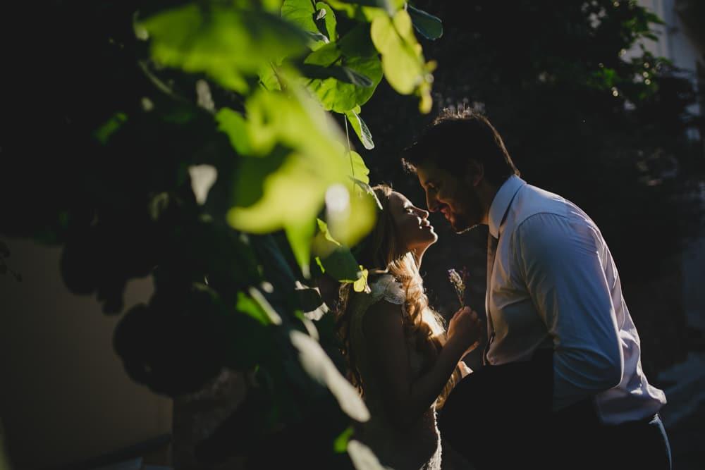 Βραδυνή γαμήλια φωτογράφιση