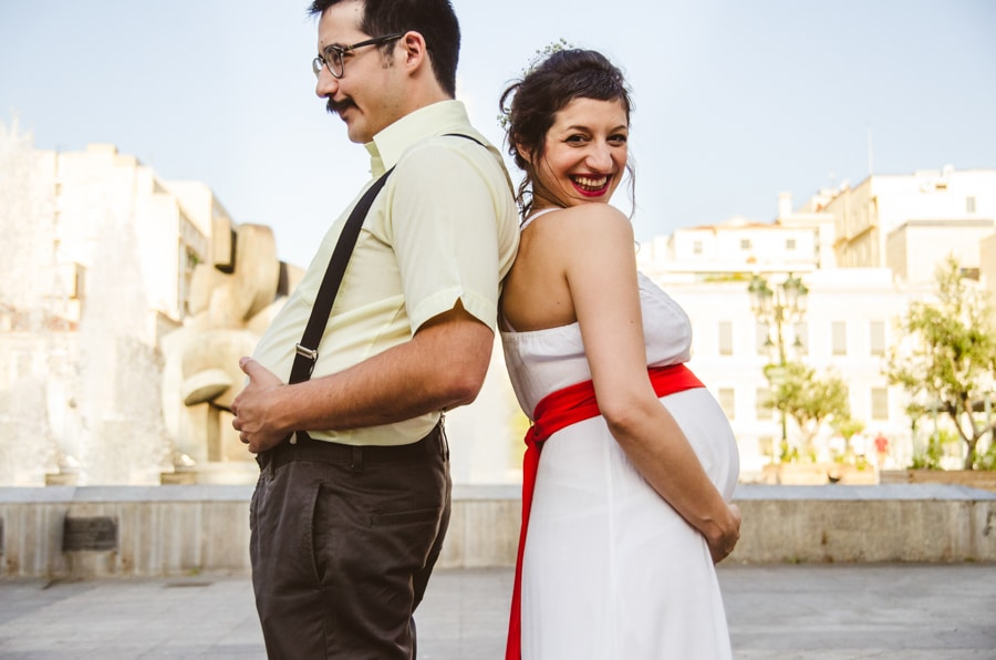 Civil wedding photoshoot by Manos Skoularikos
