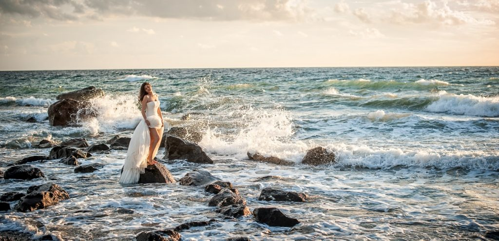 Φωτογράφιση γάμου στη σαντορίνη