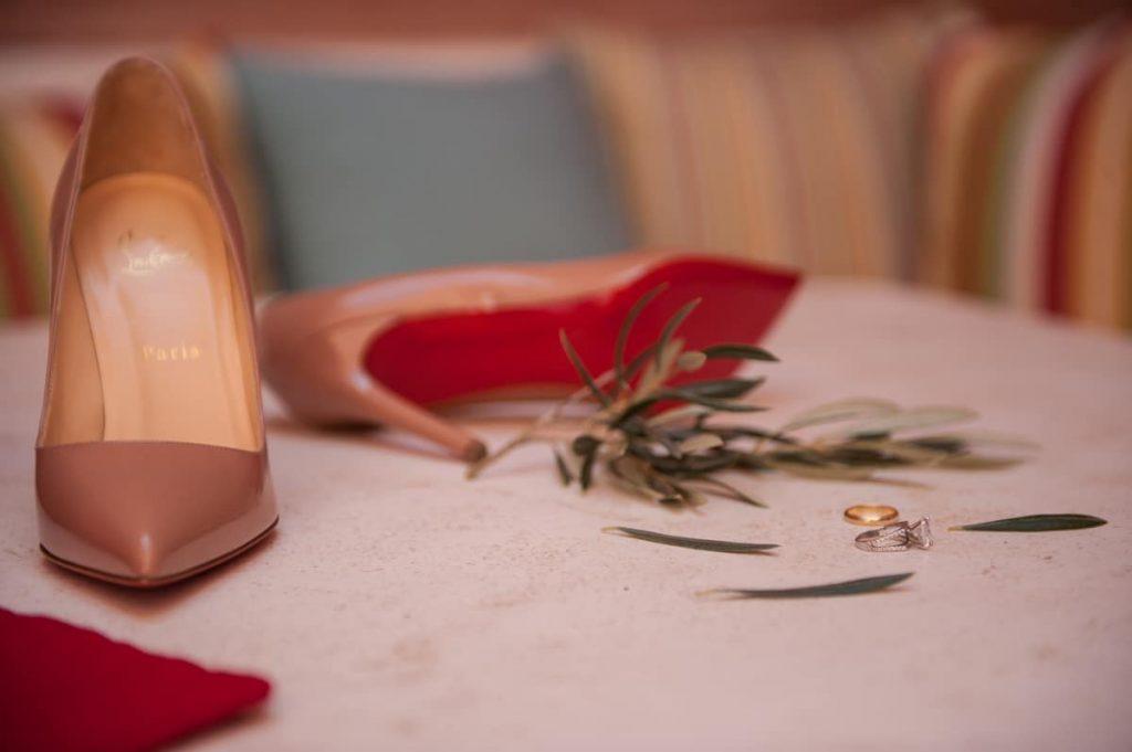 Νυφικές παπούτσια Louboutin
