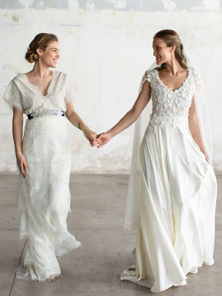 handmade lace wedding dresses