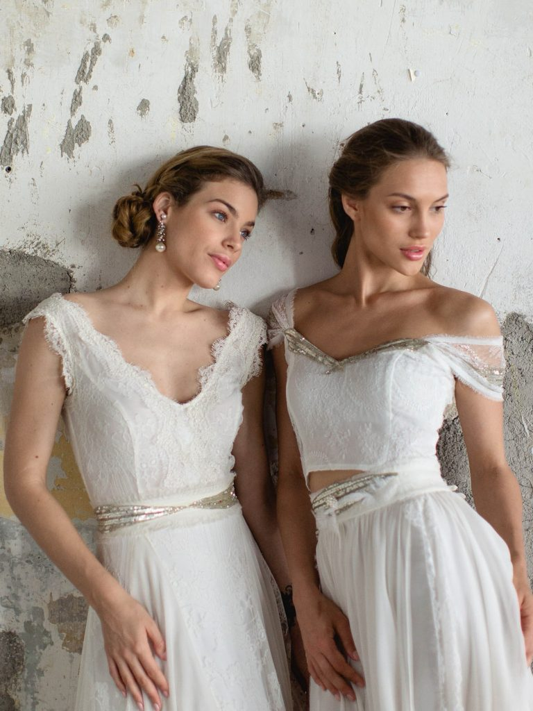 romantic wedding dresses katia delatola