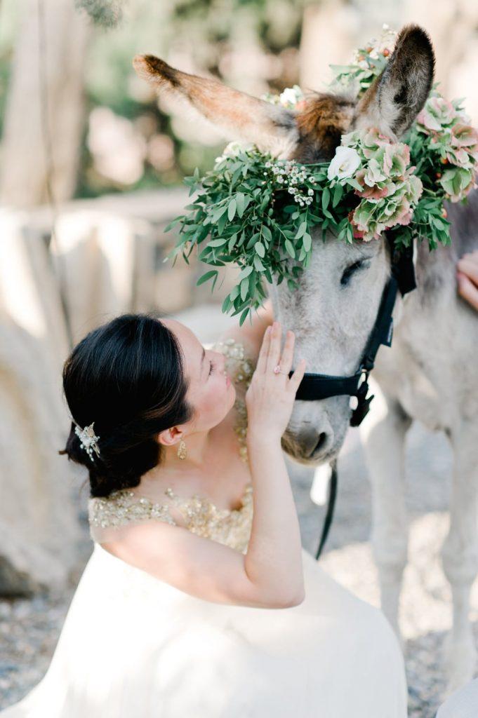 destination wedding flower decoration