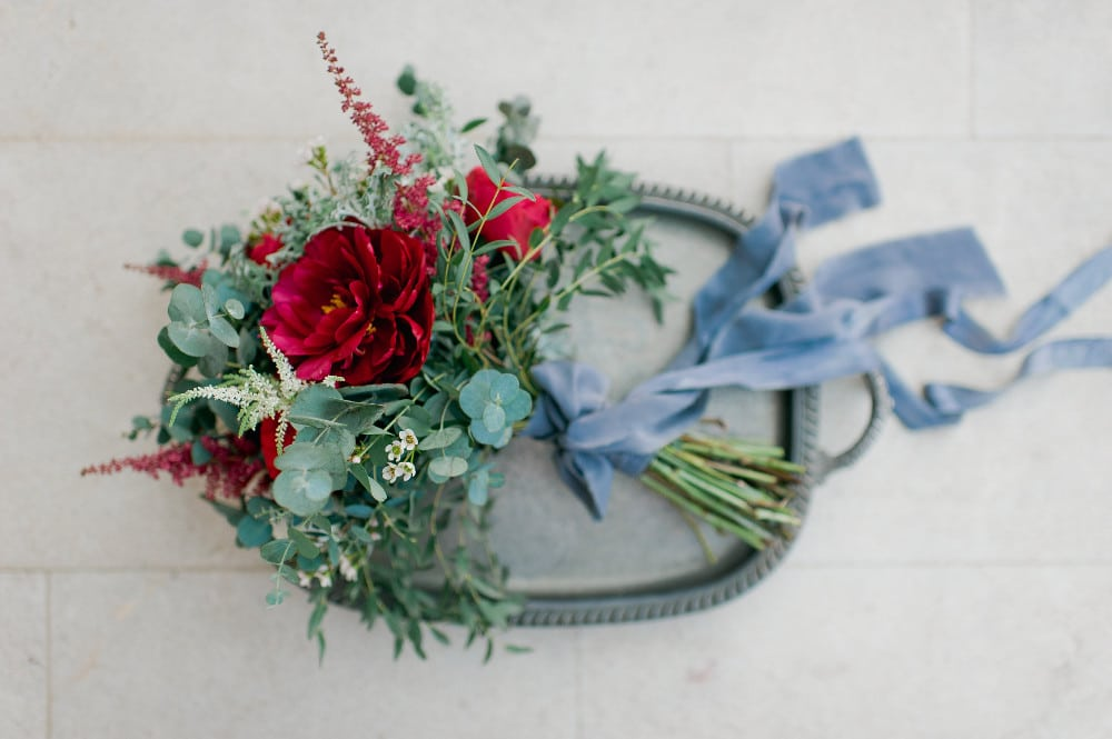 wedding flowers and decoration red box days