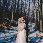 Next day φωτογράφιση γάμου στα χιόνια στο βουνό