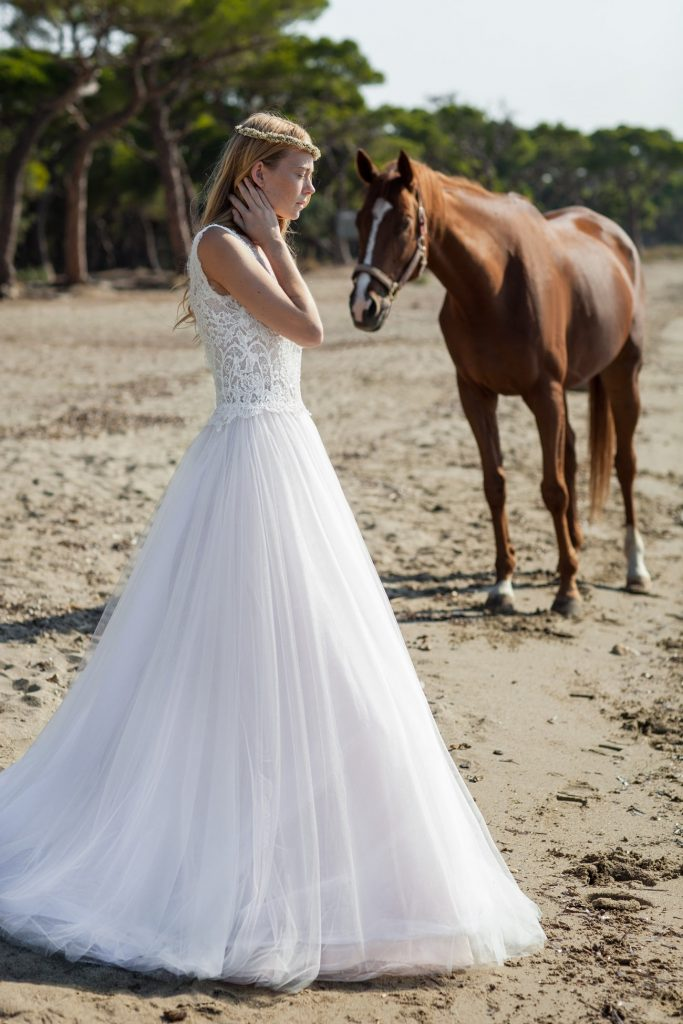 wedding gown Christos Costarellos