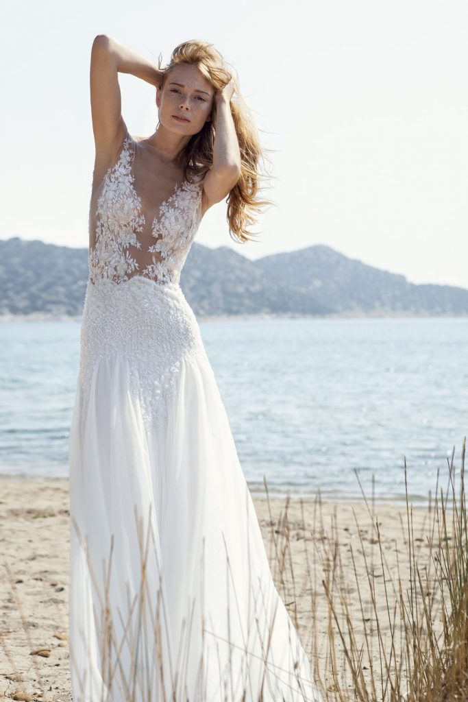 summer Romantic wedding dress