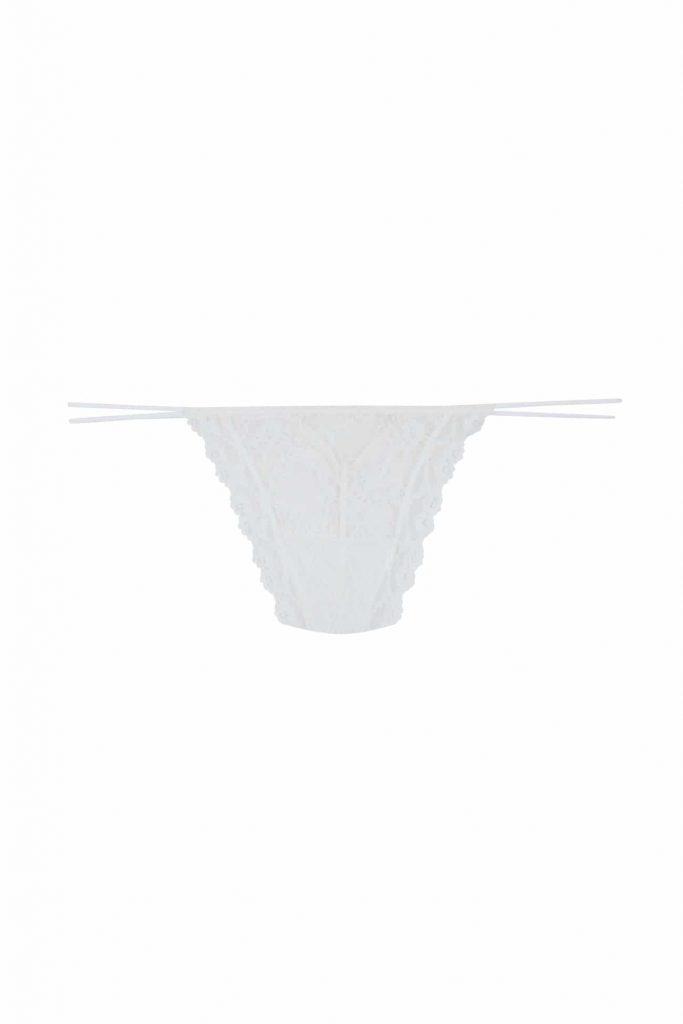 λευκό string