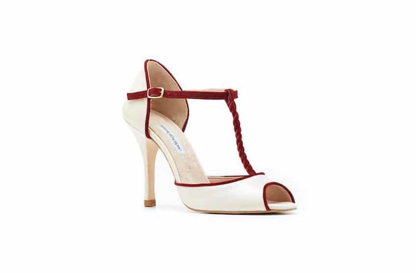 μπεζ νυφικά παπούτσια femme fanatique