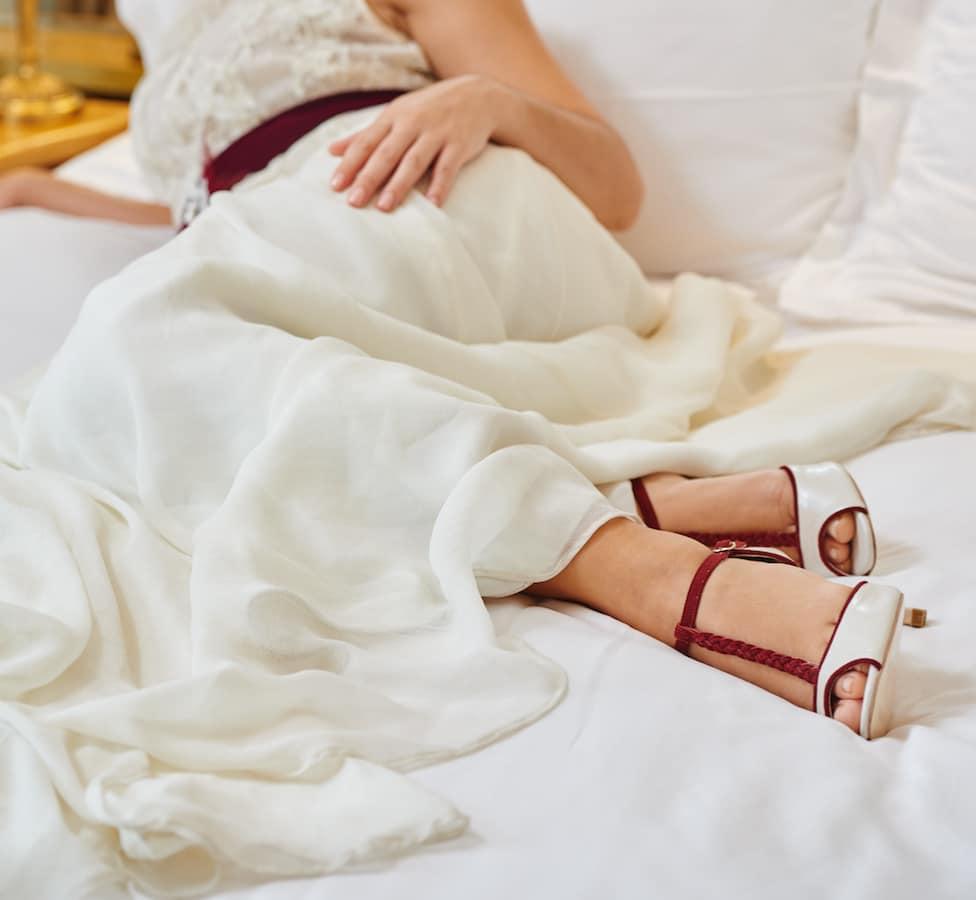 Νυφικά παπούτσια femme fanatique