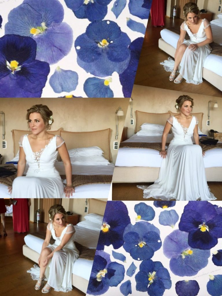 Wedding hair and wedding make up by George Marascas