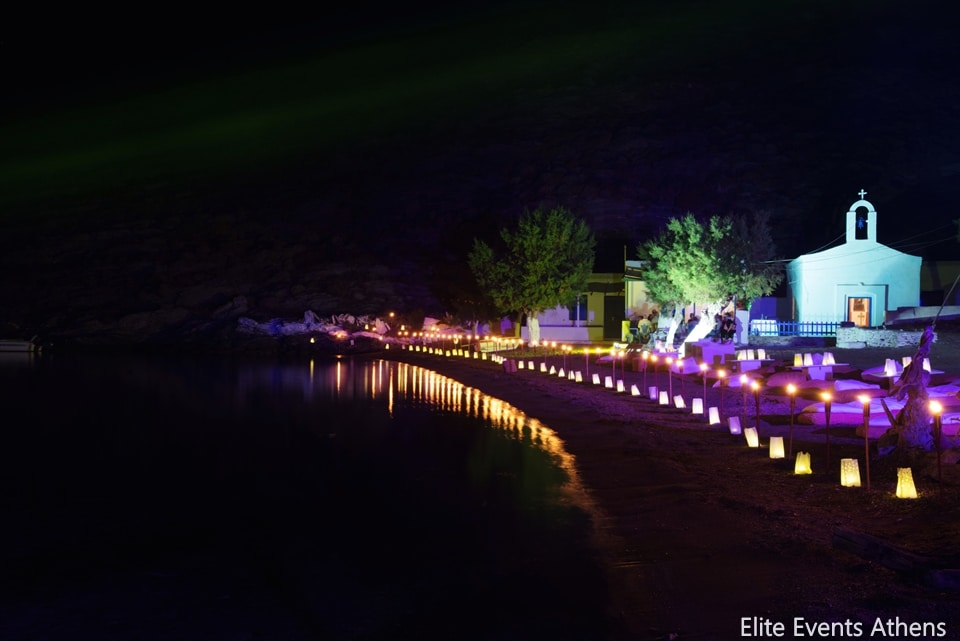 summer beach wedding planning and decoration by elite events athens