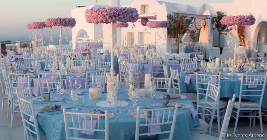 lavender wedding planning and decoration elite events athens
