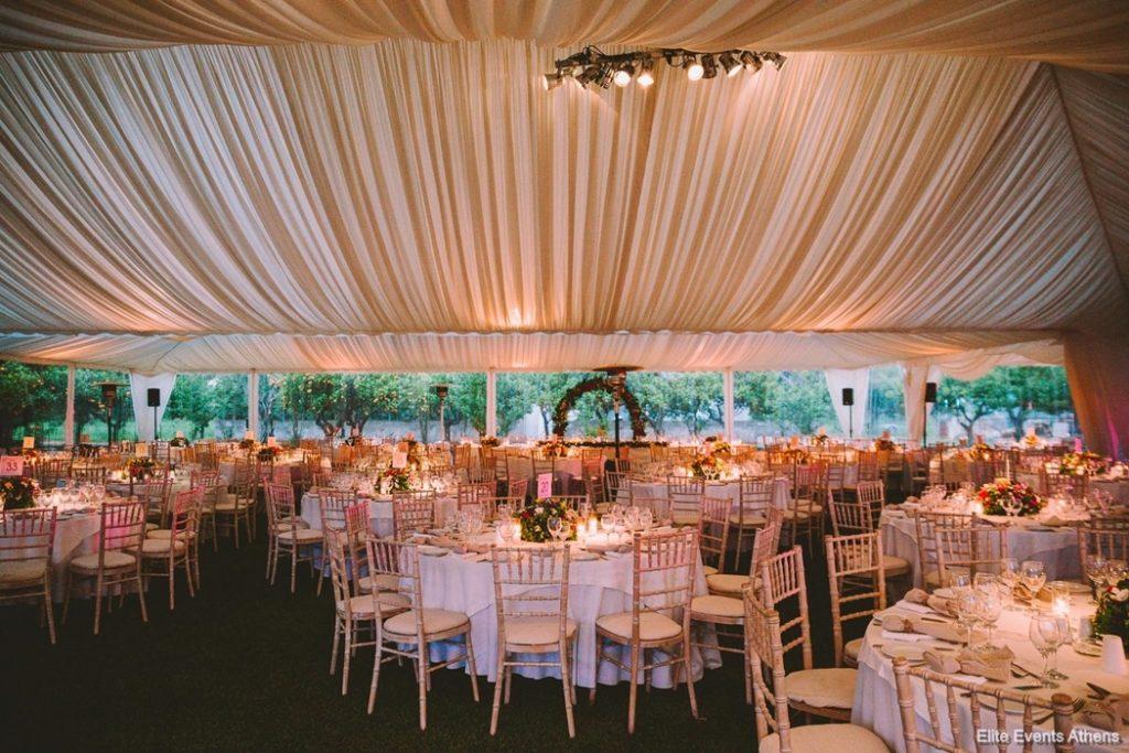 οργάνωση και διακόσμηση γάμου elite events athens