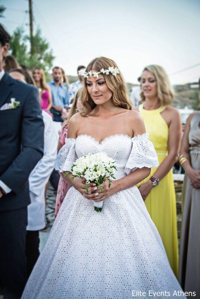 γάμος της καμπούρη στην κύθνο