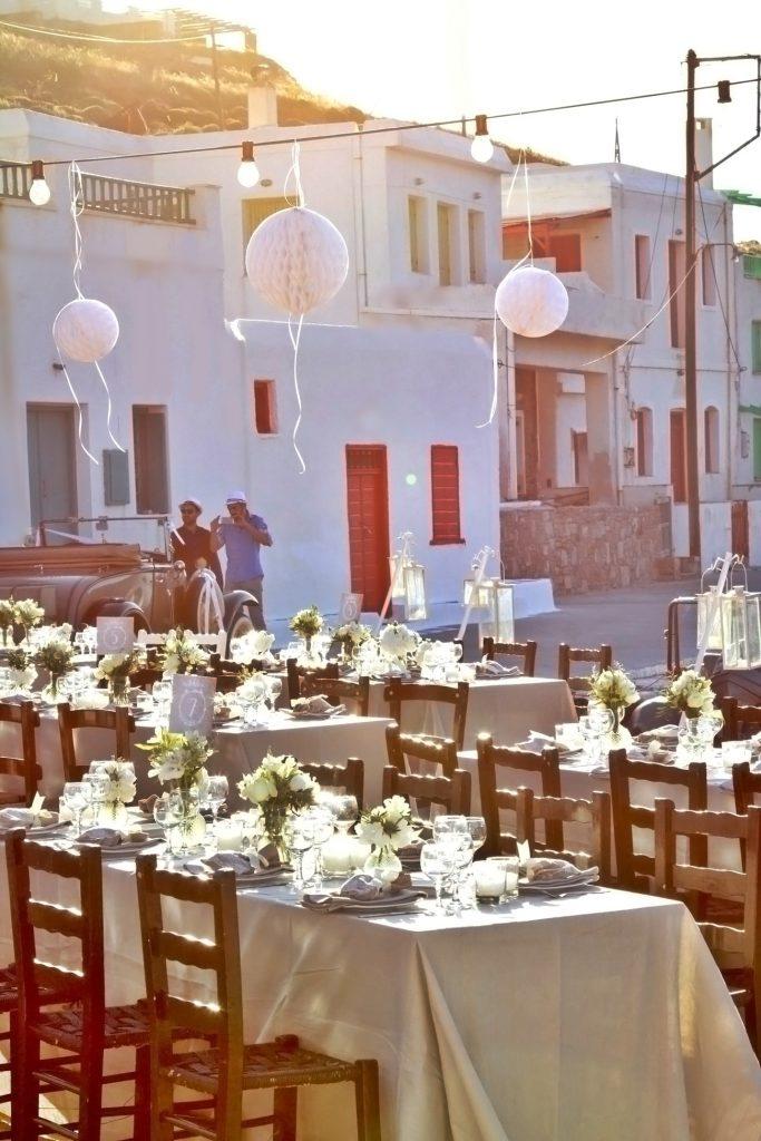 οργάνωση καλοκαιρινού γάμου σε νησί elite events athens
