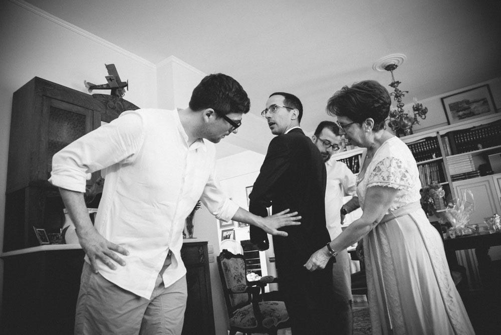 Προετοιμασία γαμπρού