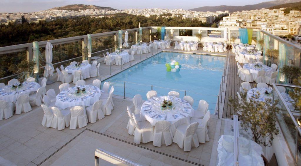 δεξίωση γάμου σε ξενοδοχείο