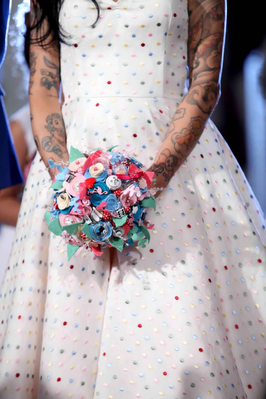 Alice in Wondreland themed wedding