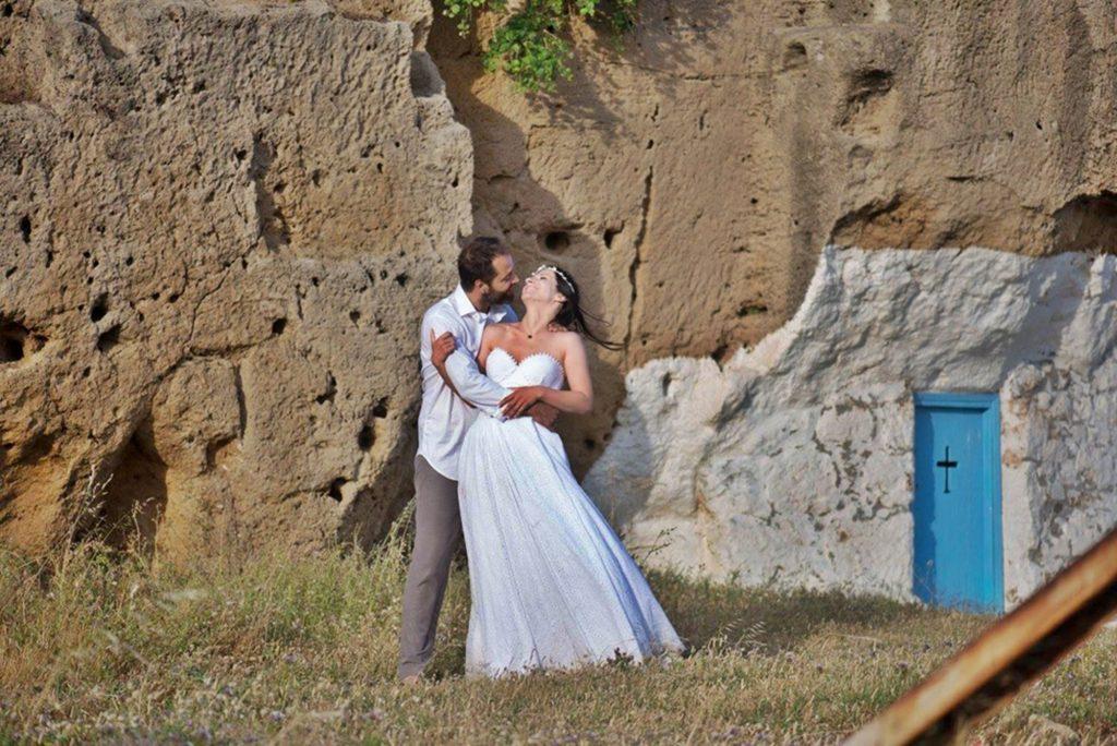 Boho γάμος στη Σκύρο