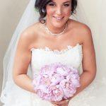 Lebanese armenian lavender wedding