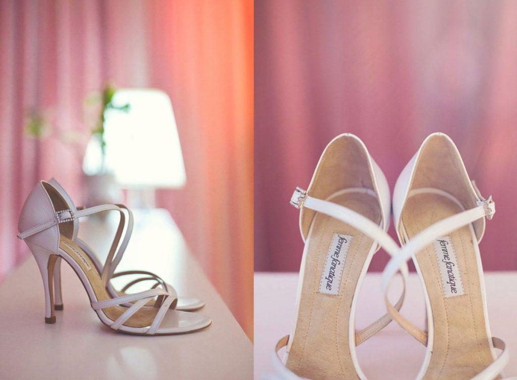 Νυφικά χειροποίητα παπούτσια  20714312910
