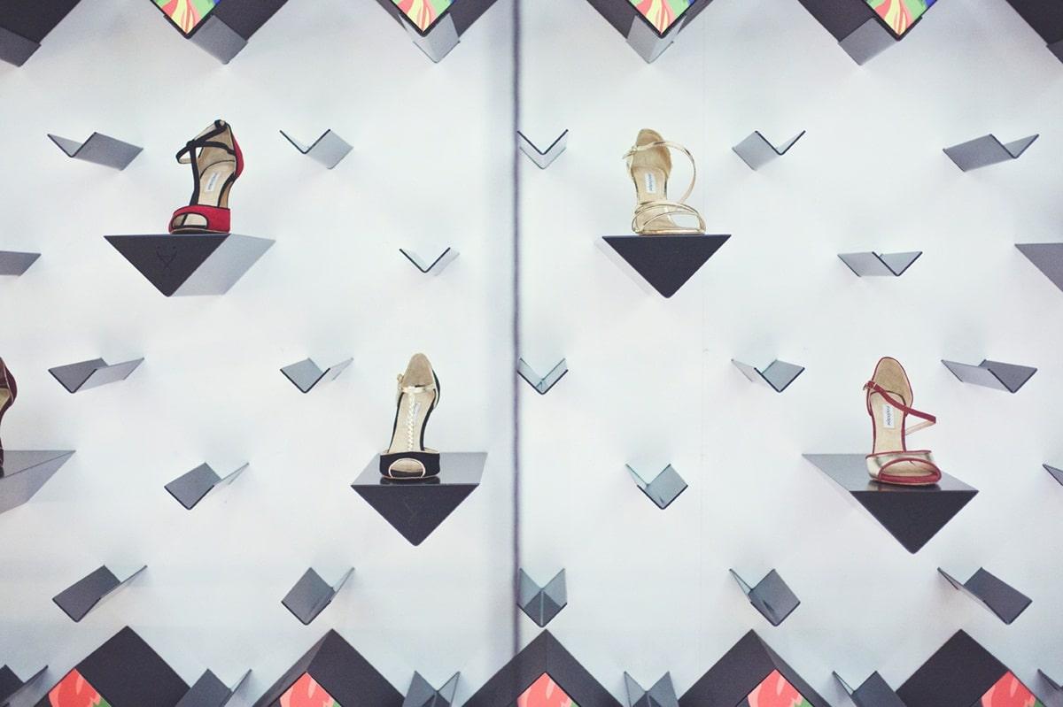 Νυφικά χειροποίητα παπούτσια