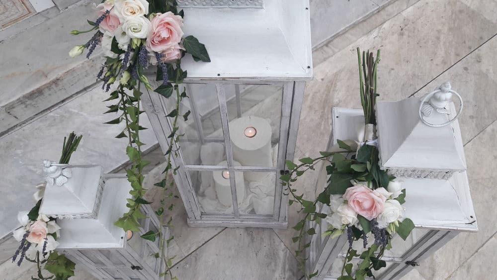 Οργάνωση και διακόσμηση γάμου Phaedra Liakou
